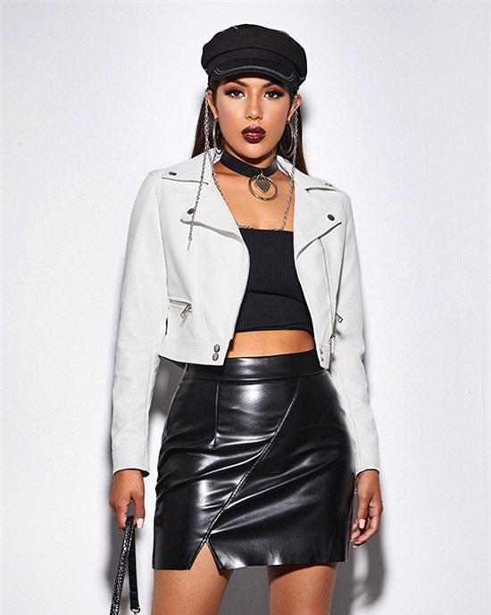 Áo khoác da cho nàng hiện đại - 8