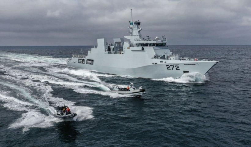 Tàu hộ tống đa năng PNS Tabuk của Hải quân Pakistan. Ảnh: Janes Defense.