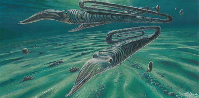 Hãi hùng quái vật 68 triệu tuổi hình… kẹp giấy, to bằng con người - Ảnh 1.