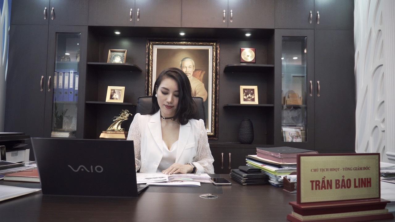 Á hậu doanh nhân Trần Bảo Linh