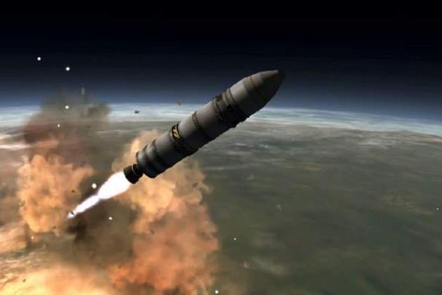 Tên lửa đạn đạo xuyên lục địa RS-28 Sarmat của Nga. Ảnh: Avia-pro.