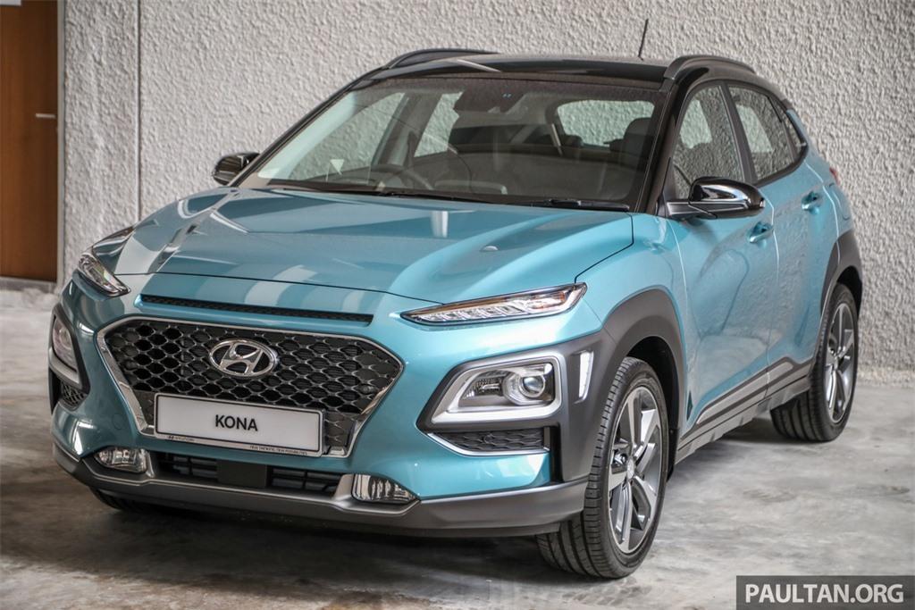 Hyundai Kona ra mat Malaysia anh 1