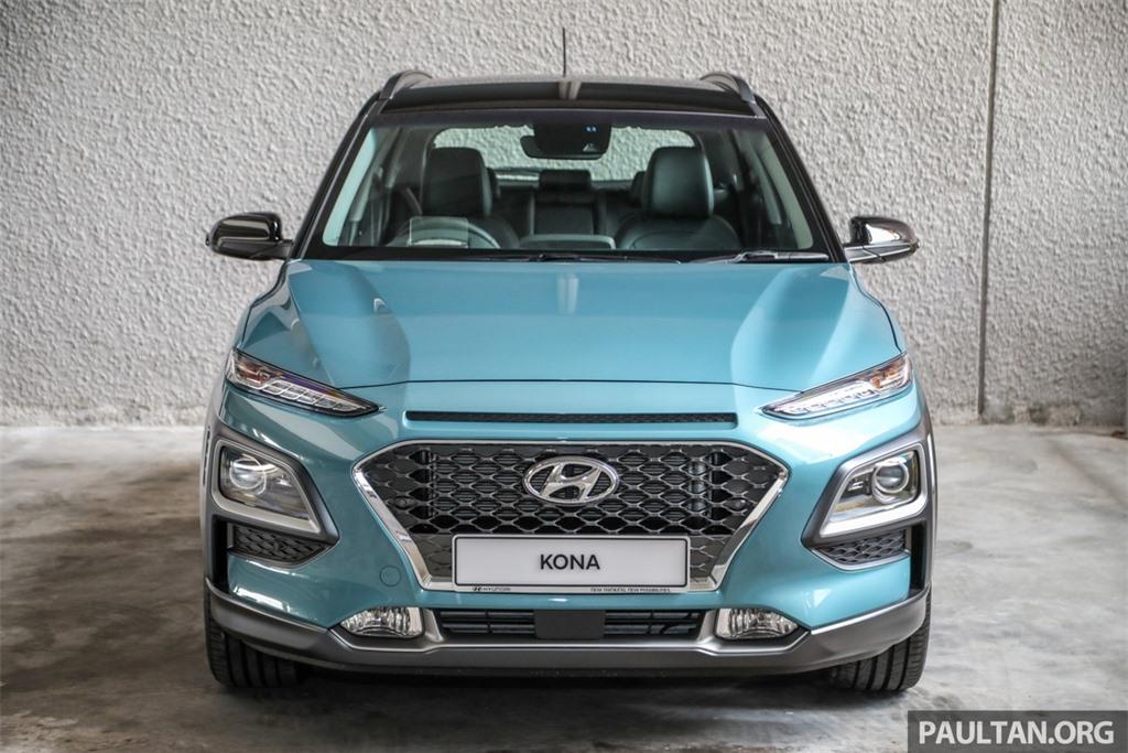 Hyundai Kona ra mat Malaysia anh 3