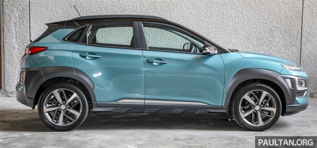 Hyundai Kona ra mat Malaysia anh 5