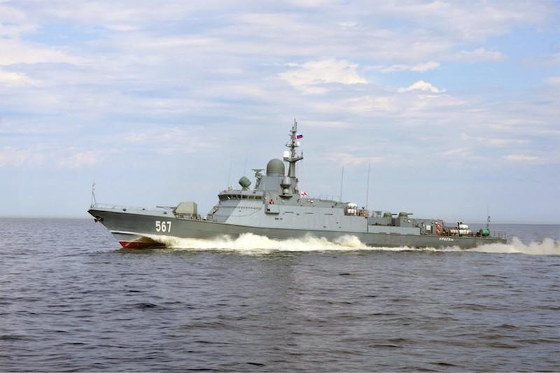 Tàu tên lửa cỡ nhỏ lớp Karakurt của Hải quân Nga. Ảnh: TASS.