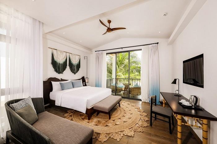 Nội thất bên trong khu nghỉ dưỡng New World Phu Quoc Resort.