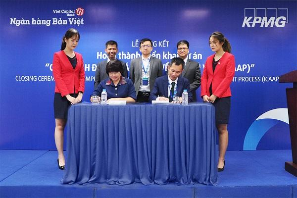 Ngân hàng Bản Việt hoàn thành 3 trụ cột Basel II trước hạn.