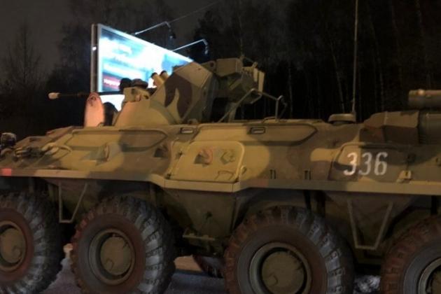Lính gìn giữ hòa bình Nga đã bị tấn công tại Karabakh. Ảnh: Avia-pro.