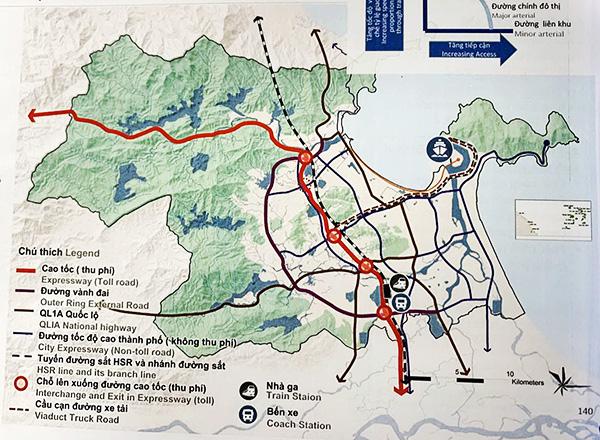Quy hoạch xây dựng cảng Liên Chiểu trong kết nối giao thông liên vùng