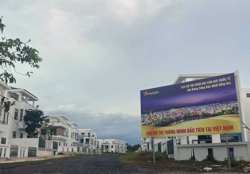Hơn hai năm qua, LDG đã xây dựng hàng trăm căn khi chưa có giấy phép làm hạ tầng, chưa được giao đất...