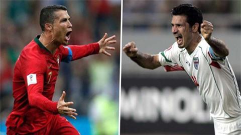 Ali Daei sẽ trực tiếp chúc mừng nếu Ronaldo phá kỷ lục của mình