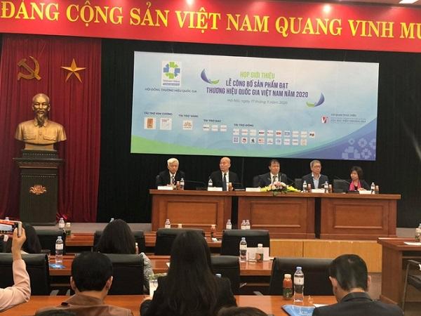 Năm 2020 cả nước có 124 DN đạt thương hiệu quốc gia Việt Nam.