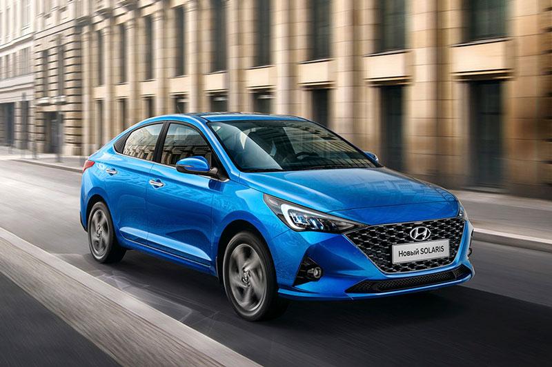 6. Hyundai Solaris - Hyundai Accent (doanh số: 5.271 chiếc).