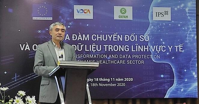 Chủ tịch Hội Truyền thông số Việt Nam Nguyễn Minh Hồng.