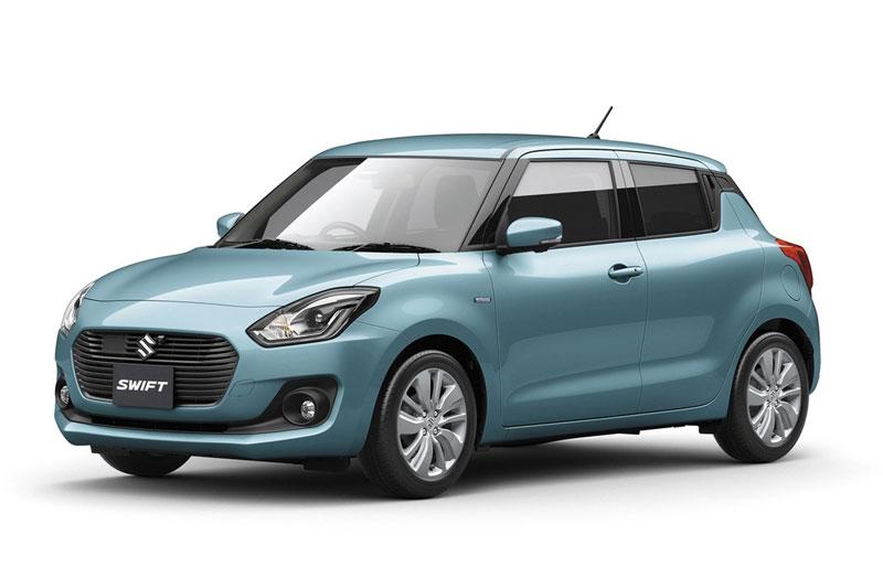 1. Suzuki Swift (doanh số: 24.589 chiếc).
