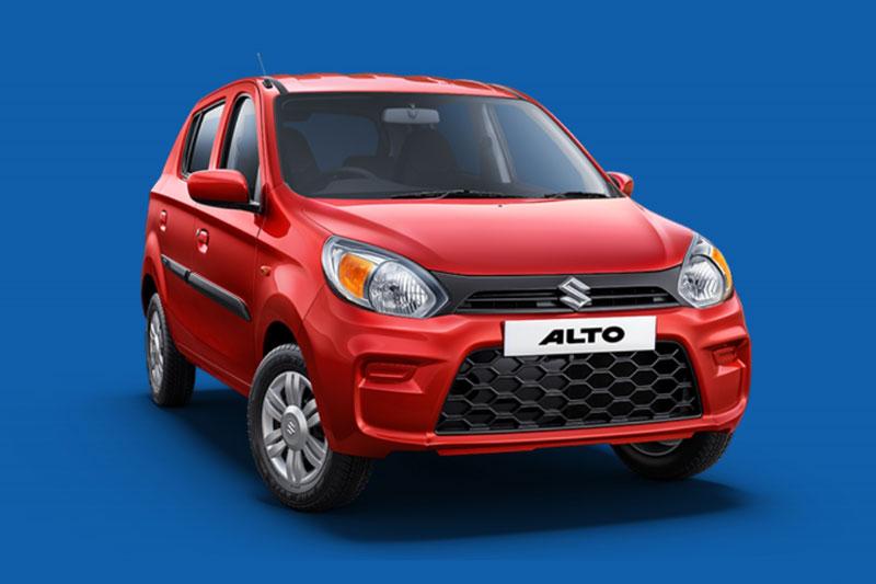 4. Suzuki Alto (doanh số: 17.850 chiếc).