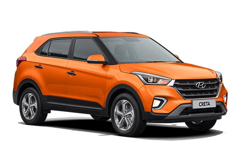 6. Hyundai Creta (doanh số: 14.023 chiếc).
