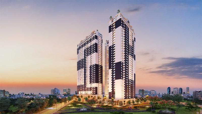 Dự án C-Sky View nằm tại vị trí trung tâm TP.Thủ Dầu Một.