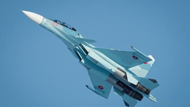 Tiêm kích Su-30SM của Armenia không được trang bị tên lửa. Ảnh: Avia-pro.