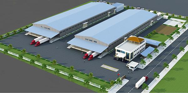 Phối cảnh nhà máy thép 500.000 tấn/năm sắp được Công ty CP Thép Dana - Ý xây dựng mới hoàn toàn tại KCN Hòa Khánh (Đà Nẵng)