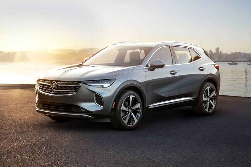 2. Buick Envision 2020 (giá khởi điểm: 33.500 USD).