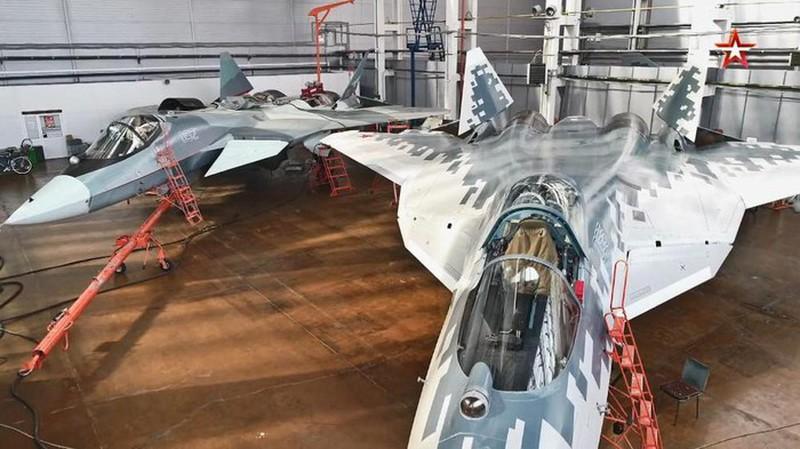 Tiêm kích tàng hình thế hệ năm Su-57 của Nga. Ảnh: Topwar.