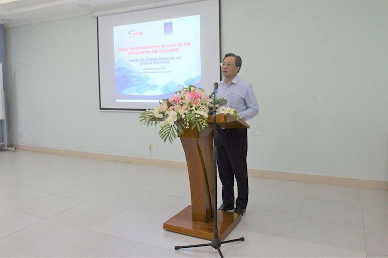 Tổng Giám đốc BSR Bùi Minh Tiến cho biết, BSR cũng từng bước thực hiện chuyển đổi số để áp dụng vào công tác quản trị, điều hành hoạt động sản xuất kinh doanh tốt hơn, thông minh hơn.