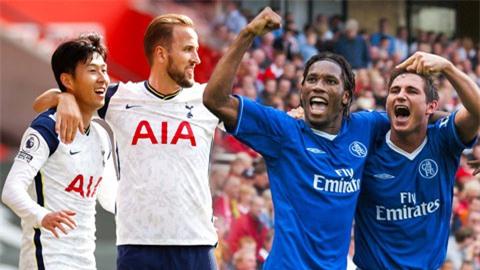 Cặp Son-Kane chỉ còn kém bộ đôi của Chelsea trong top song sát hay nhất Premier League
