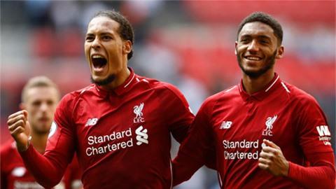 Liverpool mất cả bộ đôi trung vệ Van Dijk và Gomez đến hết mùa giải