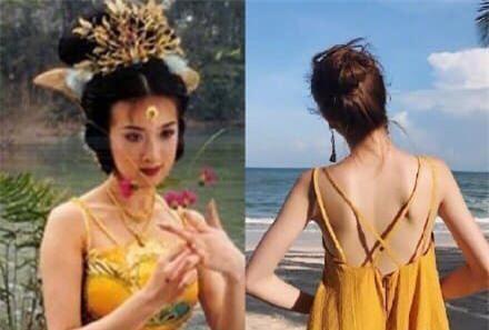 Thì ra Tây Du Ký mở ra loạt trend thời trang khủng: Từ khăn cổ nữ sinh, áo lưới xuyên thấu đến bộ bra đính đá chị em truy lùng - Ảnh 1.