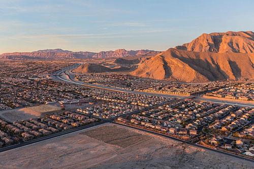 Đứng đầu danh sách là Las Vegas, thành phố sa mạc được mệnh danh