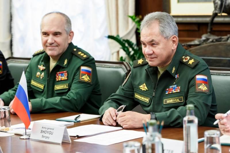 Bộ trưởng Quốc phòng Nga - Đại tướng Sergei Shoigu. Ảnh: TASS.