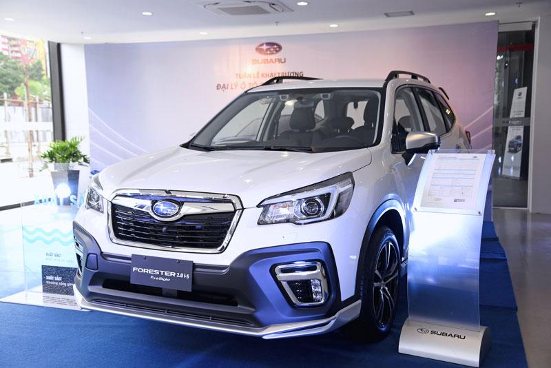 Subaru Forester giảm giá 229 triệu đồng, quyết đấu với Mazda CX-5, Honda CR-V