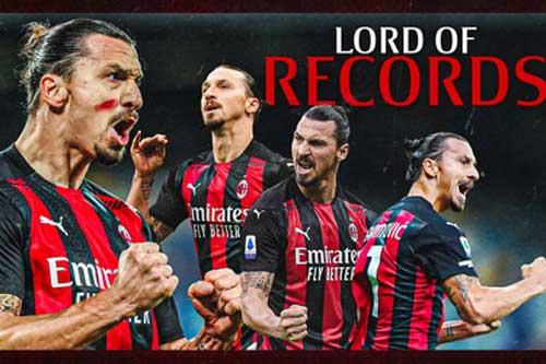 Ibrahimovic miệt mài săn lùng các kỷ lục
