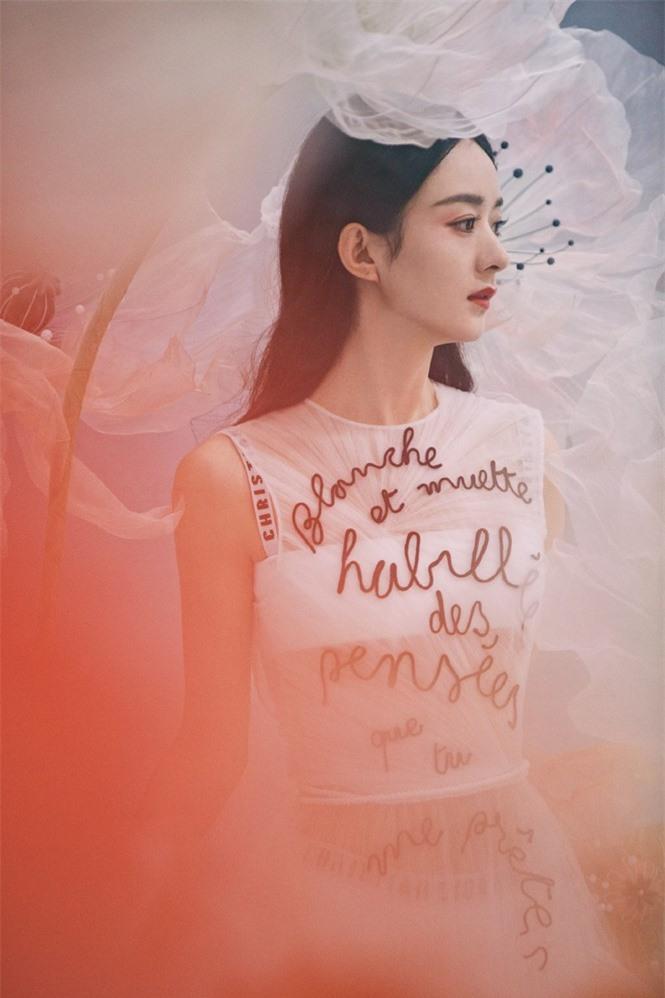 'Gái một con' Triệu Lệ Dĩnh đẹp như mỹ nữ trong tranh - ảnh 13