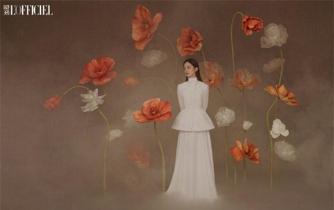 'Gái một con' Triệu Lệ Dĩnh đẹp như mỹ nữ trong tranh - ảnh 3