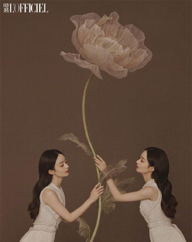 'Gái một con' Triệu Lệ Dĩnh đẹp như mỹ nữ trong tranh - ảnh 7