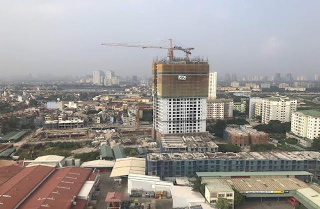 Ngay cả ở dự án xa trung tâm cũng khó có căn hộ nào tầm 1 tỷ đồng (Ảnh: TL)