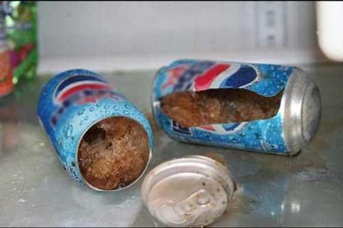 Đừng bao giờ bỏ lon nước ngọt vào ngăn đá tủ lạnh, hậu quả có thể khiến bạn hối hận cả đời