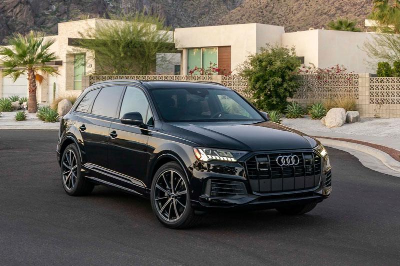 10. Audi Q7 2020 (giá khởi điểm: 54.800 USD).