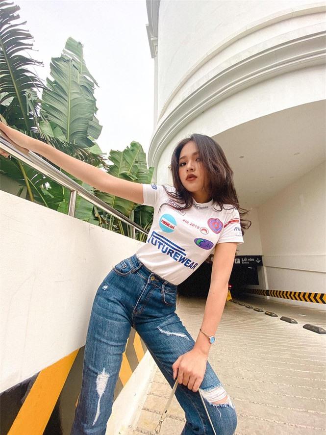 Khoe số đo 3 vòng như hoa hậu của cô nàng 10X Phú Yên - ảnh 5