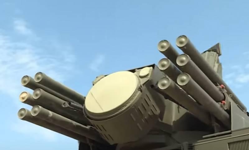 Hệ thống tên lửa phòng không tầm thấp Pantsir-S1 do Nga chế tạo. Ảnh: Topwar.