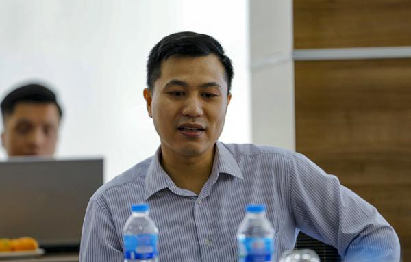 Ông Tống Mạnh Cường, Giám đốc kinh doanh VNPT IT.