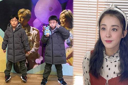 Mỹ nhân 'Dae Jang Geum' vất vả làm mẹ đơn thân