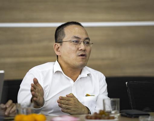 Ông Lê Hoài Nam, Phó Giám đốc Viettel IDC.