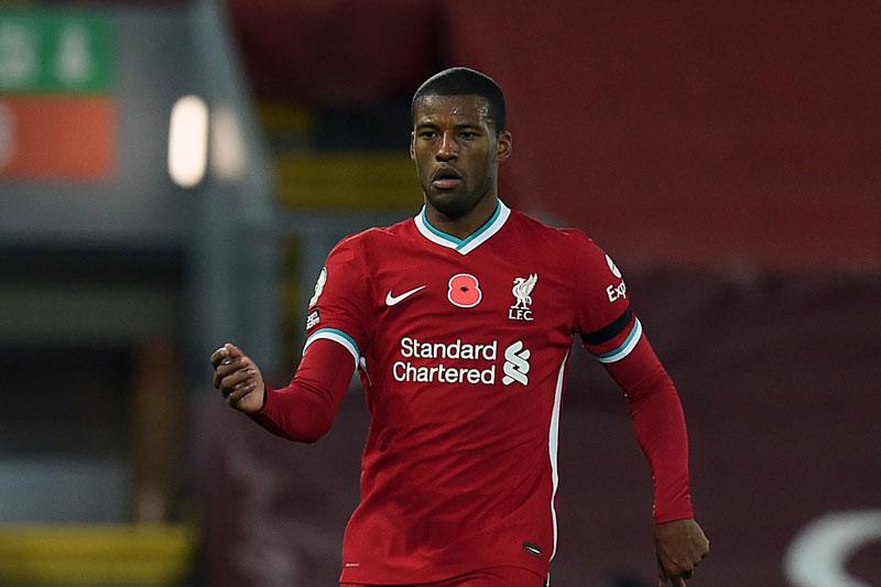 Tiền vệ trung tâm: Georginio Wijnaldum (Liverpool).