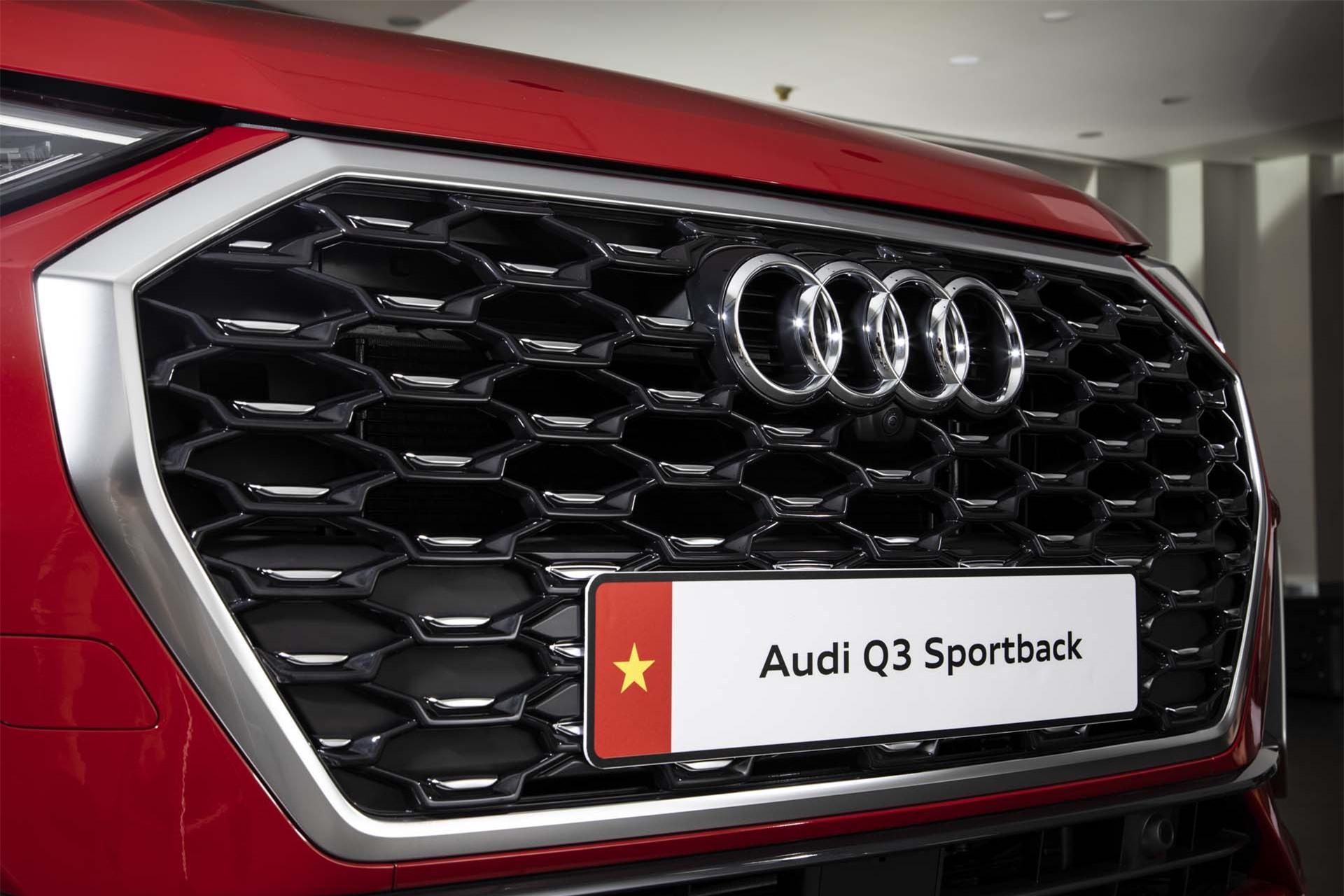 Tản nhiệt xe Audi Q3 Sportback