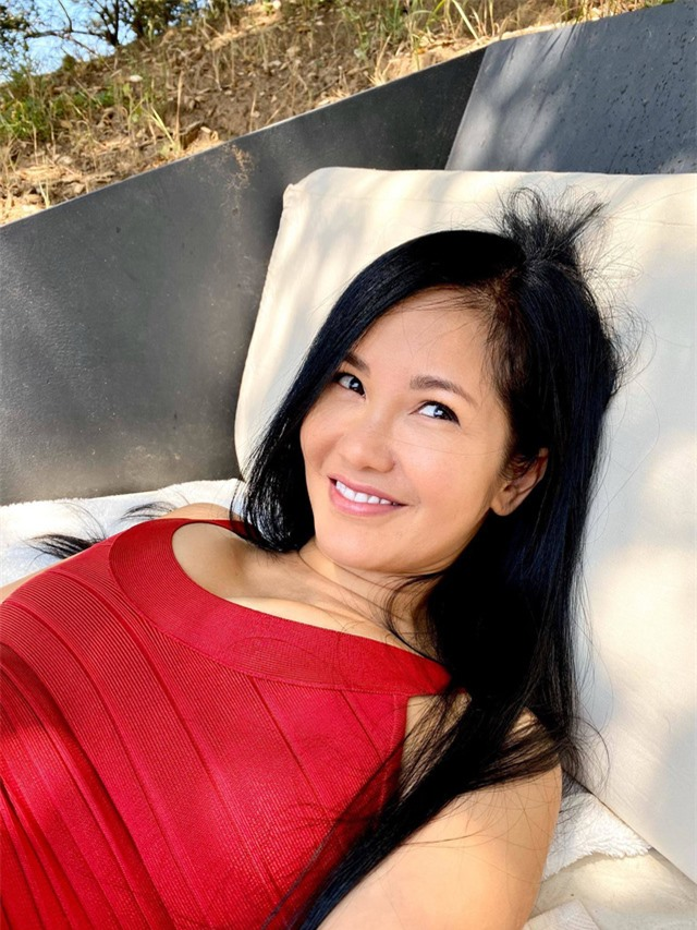 Sắc vóc tuổi 50 của ca sĩ Hồng Nhung - Ảnh 2.