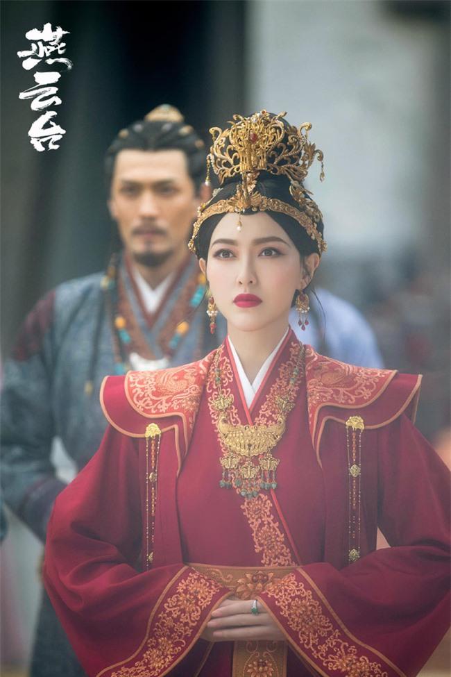 Yến Vân Đài: Loạt ảnh làm Thái Hậu của Đường Yên, môi đỏ mặt láng mịn cực kỳ xinh đẹp  - Ảnh 10.