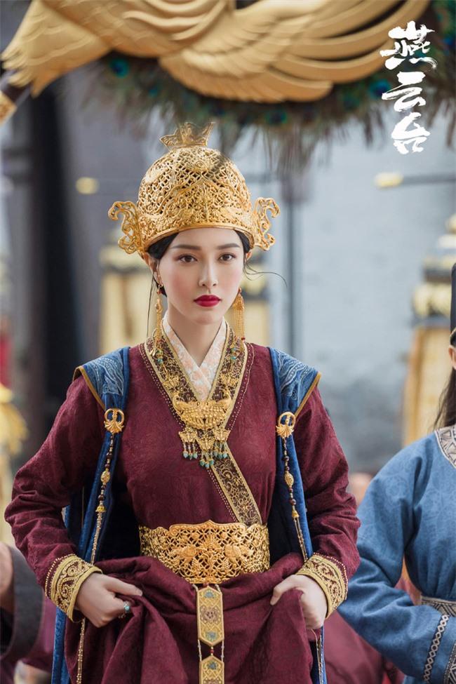 Yến Vân Đài: Loạt ảnh làm Thái Hậu của Đường Yên, môi đỏ mặt láng mịn cực kỳ xinh đẹp  - Ảnh 11.